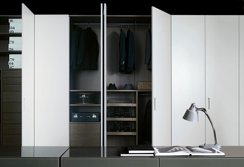 collection dressing storage de porro par piero lissoni claude cartier d coration. Black Bedroom Furniture Sets. Home Design Ideas