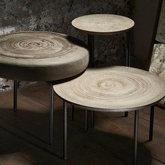 Collection Claude Cartier décoration architecte d'intérieur à Lyon. Table basse Coffee Table MOS DESIGN