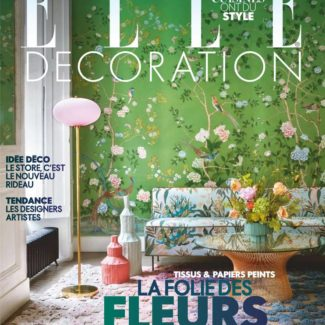 Claude Cartier parution presse Elle Décoration avril 2018