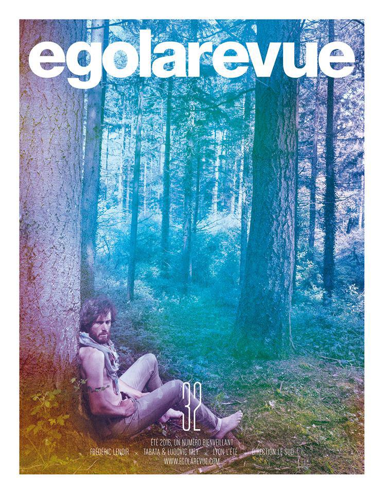 Parution presse Ego La Revue Juillet 2016 Claude Cartier décoration architecte d'intérieur à Lyon.