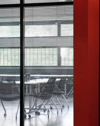 Réalisation bureau- Claude Cartier décoration architecte d'intérieur à Lyon.
