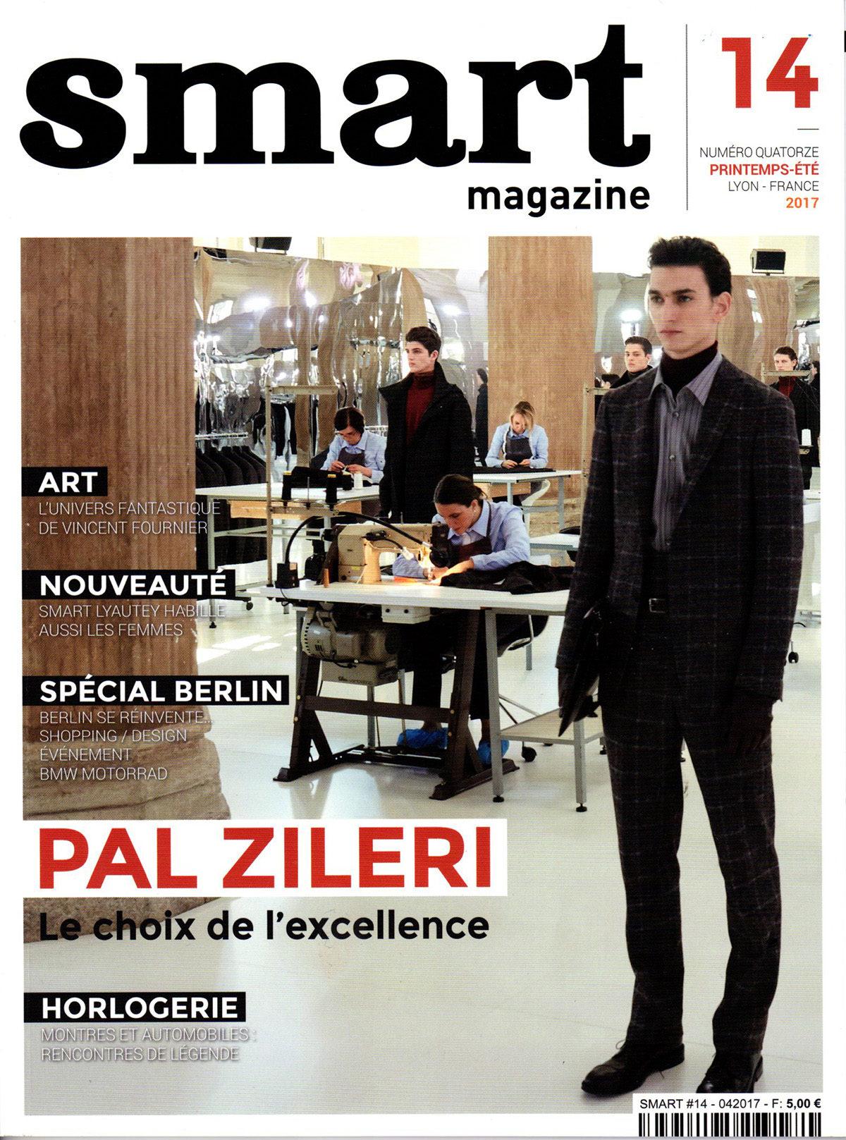 Parution presse Smart Magazine 2017 Claude Cartier décoration architecte d'intérieur à Lyon.