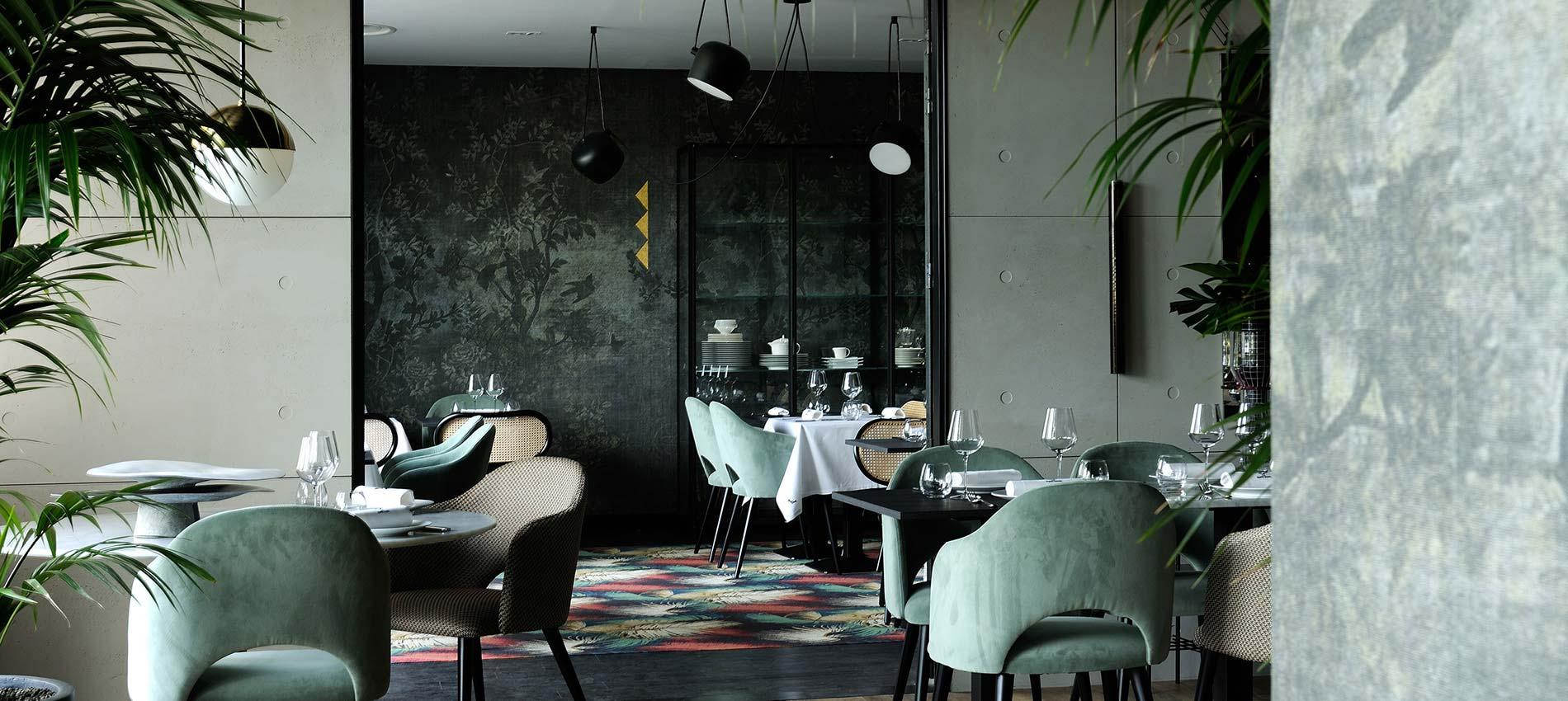 Réalisation Claude Cartier décoration Lyon Diner Végétal Mais Pas Vegan