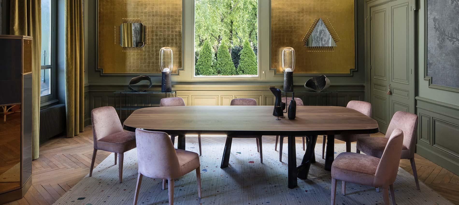 Le passé revisité. Réalisation Claude Cartier à Lyon, décoration et architecte à Lyon .